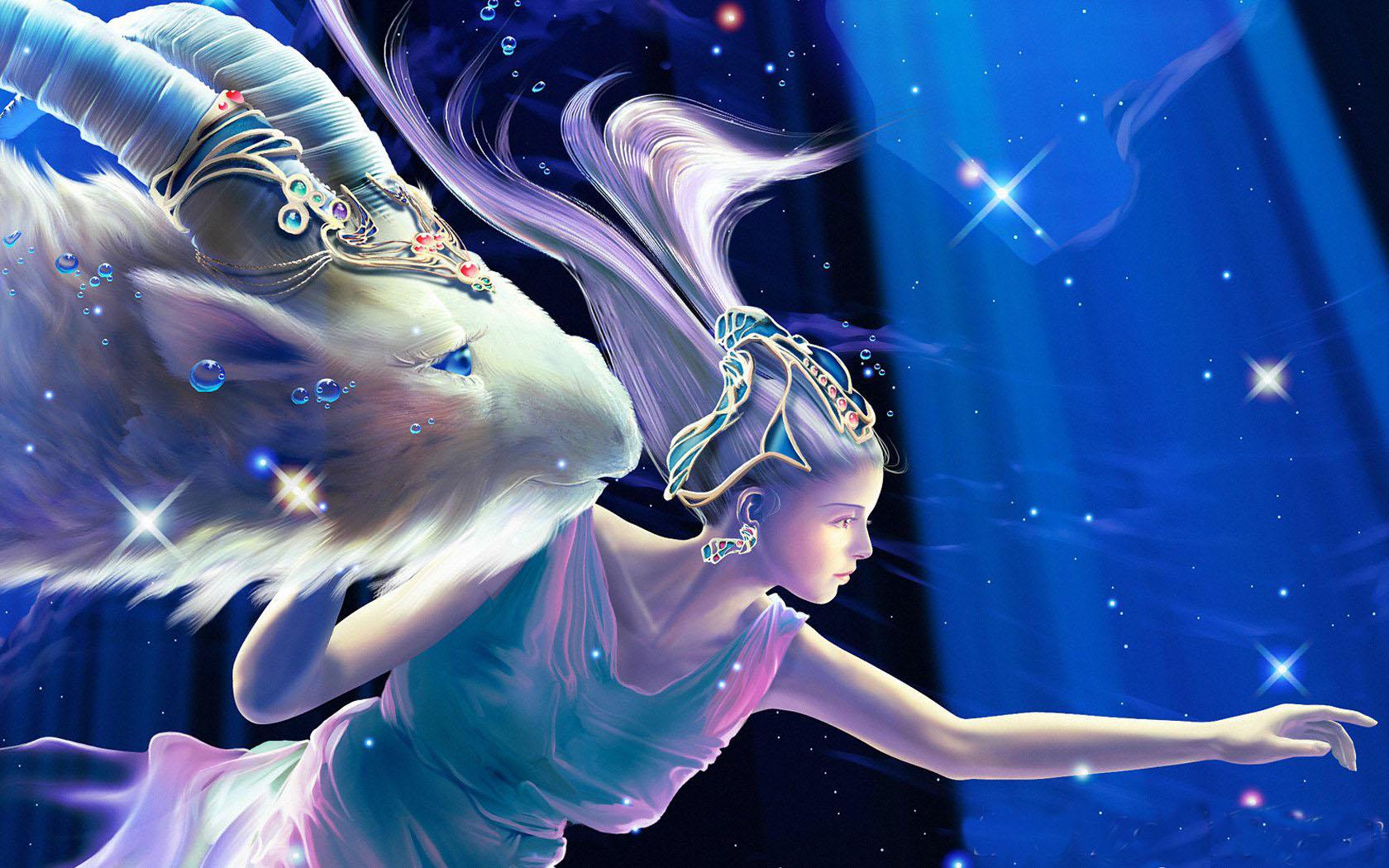 十二星座梦幻微信头像