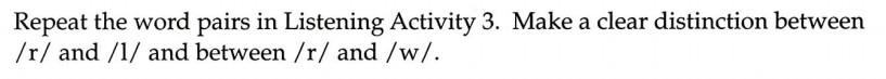 美国英语语音语调速成 Consonant 4 /r/ Exercise 4