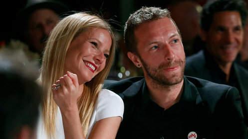 格温妮丝•帕特洛(Gwyneth Paltrow)与丈夫克里斯•马汀(Chris Martin)