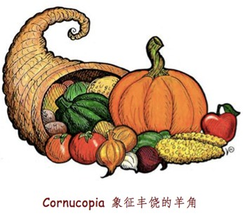 """Cornucopia,""""象征丰饶的羊角"""""""