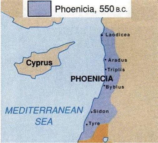 Phoenicia 腓尼基