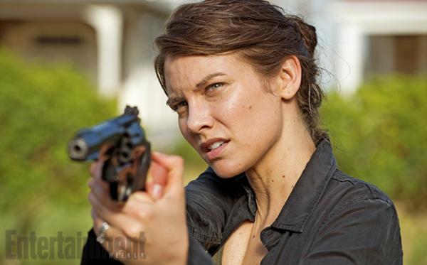 《行尸走肉》第六季最新剧照:格伦和玛吉都向谁开枪
