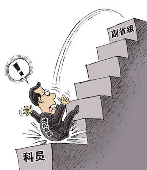 """""""断崖式降级""""凸显反腐决心"""