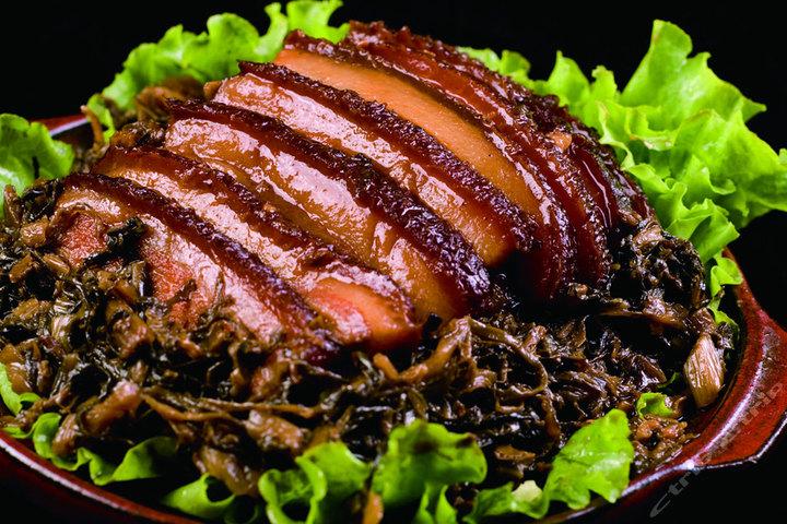 梅干菜扣肉的英文