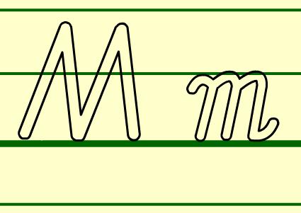 M的书写格式