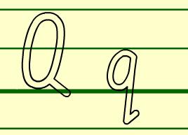 Q的书写格式