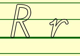 r的书写格式