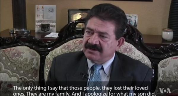 VOA慢速英语:奥兰多枪手之父的采访