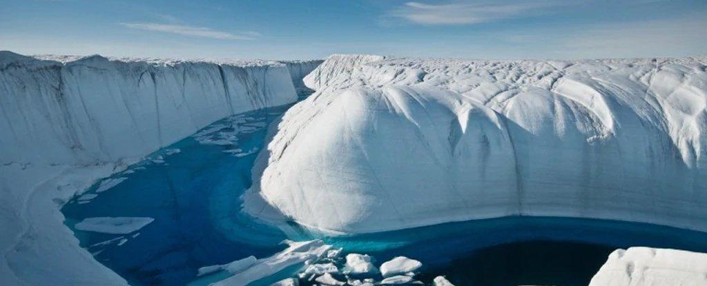 格陵兰岛现在的融冰速度是上世纪90年代的7倍