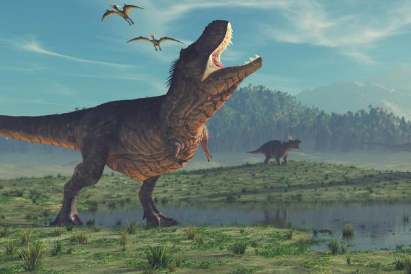 研究显示,恐龙可能在小行星√撞击地球之前就已经♂中毒了
