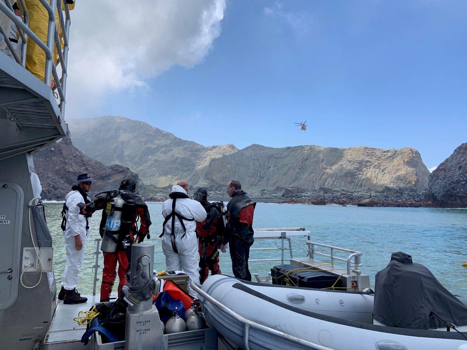 新西兰火山死亡人数上升至16人,搜救人员未能找到剩余尸体
