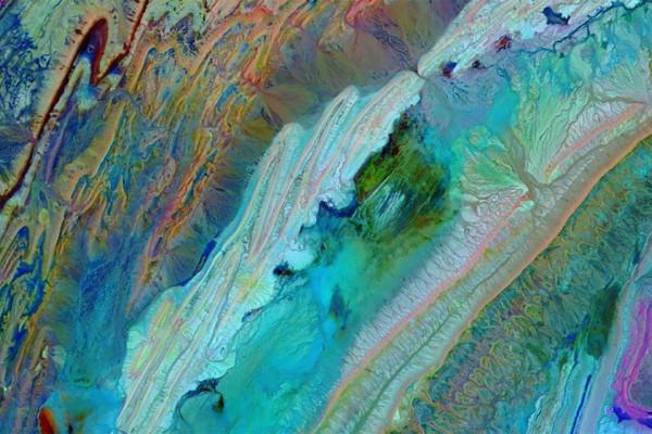 摩洛哥的阿特拉斯山脈在NASA的照片中像來自另一個世界