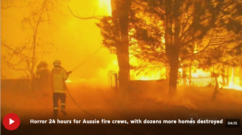 新西兰增派22名消防员帮助澳大利亚应对丛林大火危机