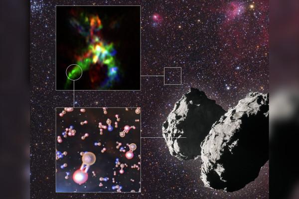 """科学家称,彗星可能为地球带来了""""生命的基本元素"""""""