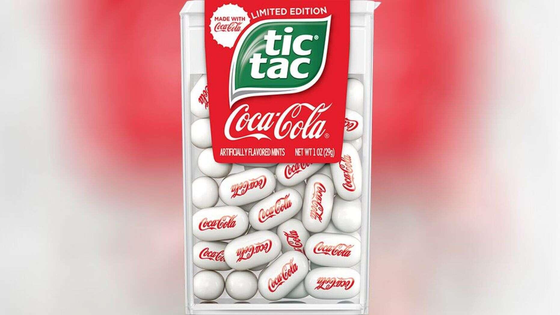 嘀嗒糖公司限量推出可口可乐薄荷糖