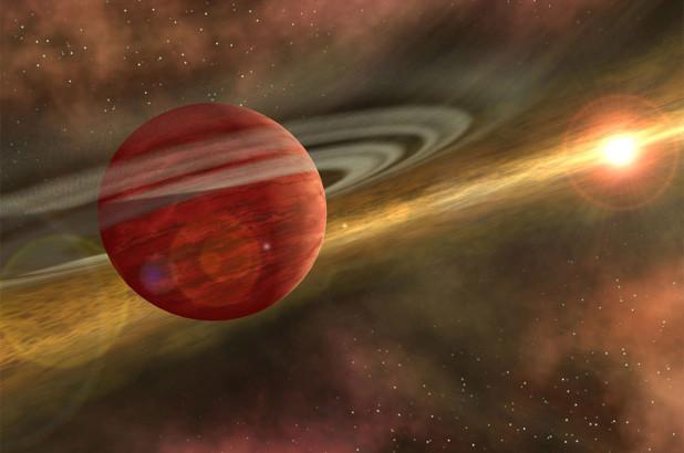 """在距地球330光年的地方发现""""小巨人行星"""""""