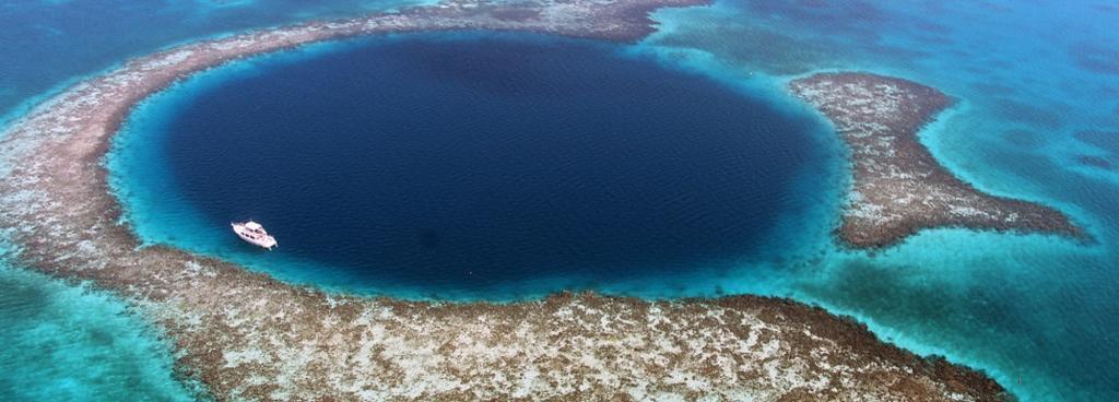 在最深的藍洞中發現了距今8000年的碳