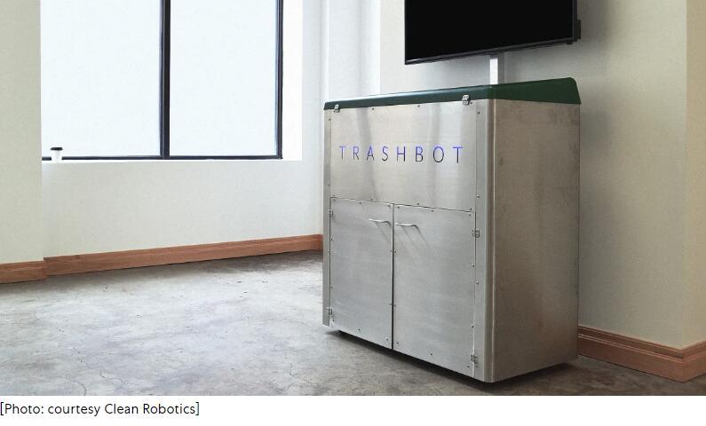 一个能自动帮你垃圾分类的机器人