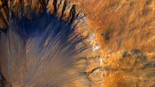 研究发现,火星上有两种水,它们可能来自不同的起源