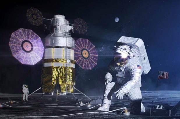 美国宇航局详细计划在月球上建立基地