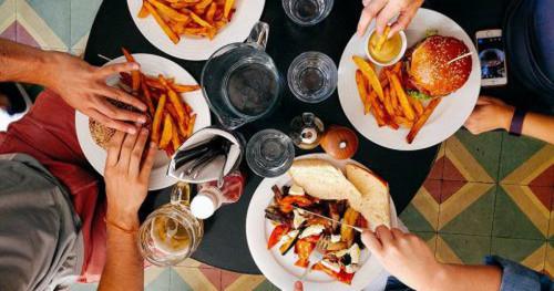 eat less dinner