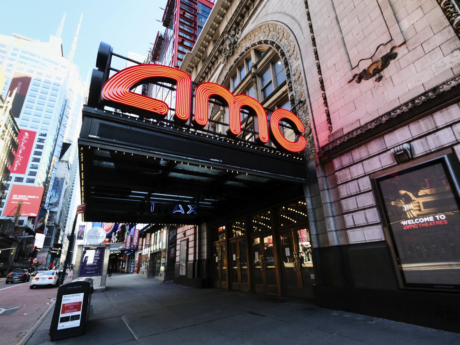 AMC影院重开时将要求客人戴上口罩