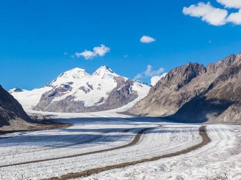 阿尔卑斯山冰川融化速度翻倍