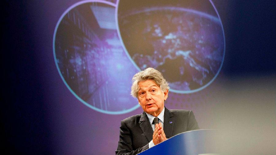 欧盟欲向科技巨头发难