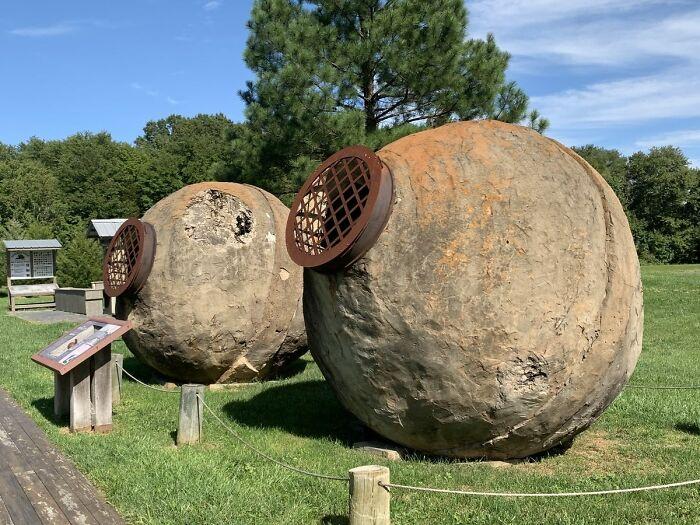 在19世紀的弗吉尼亞,這些巨大的球被用來開采黃金