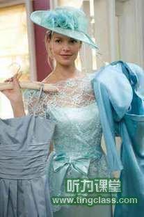 27 Dresses《新娘靠边闪》精讲之一