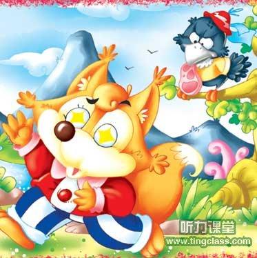 提高英语口语的电影_英语童话:乌鸦和狐狸 - 听力课堂