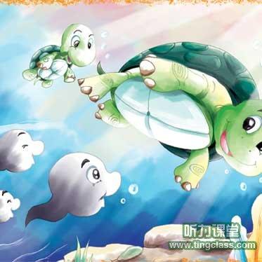 经典英语寓言小故事_英语童话:小蝌蚪找妈妈 - 听力课堂