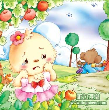 英语童话:不听话的小白兔