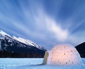 加拿大爱斯基摩人的石版画