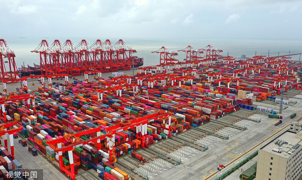 每日一词∣贸易高质量发展 high-quality trade development