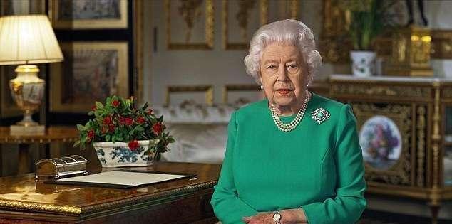 英國女王特別演講