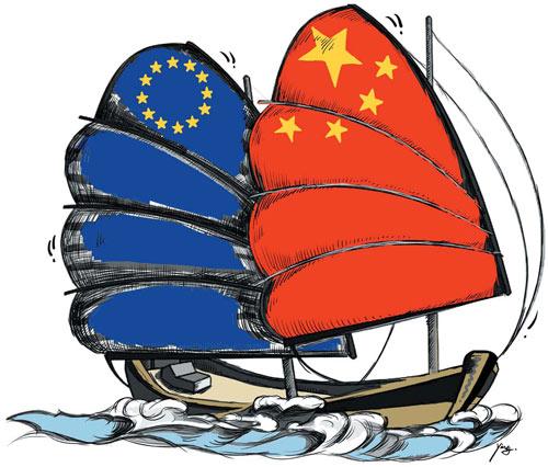每日一词∣中欧绿色合作伙伴关系 China-EU green partnership