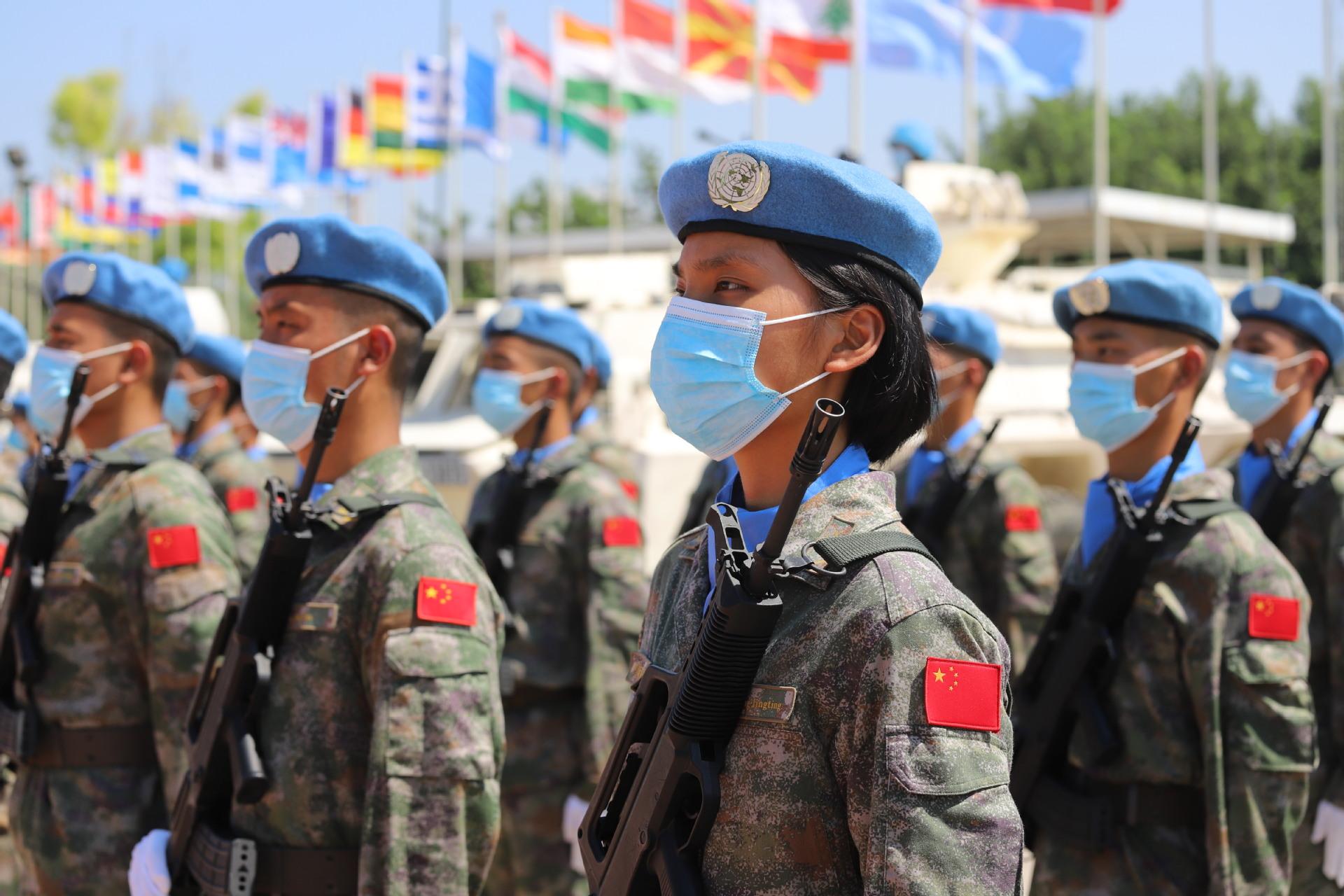 每日一词∣联合国维和行动 UN peacekeeping operations
