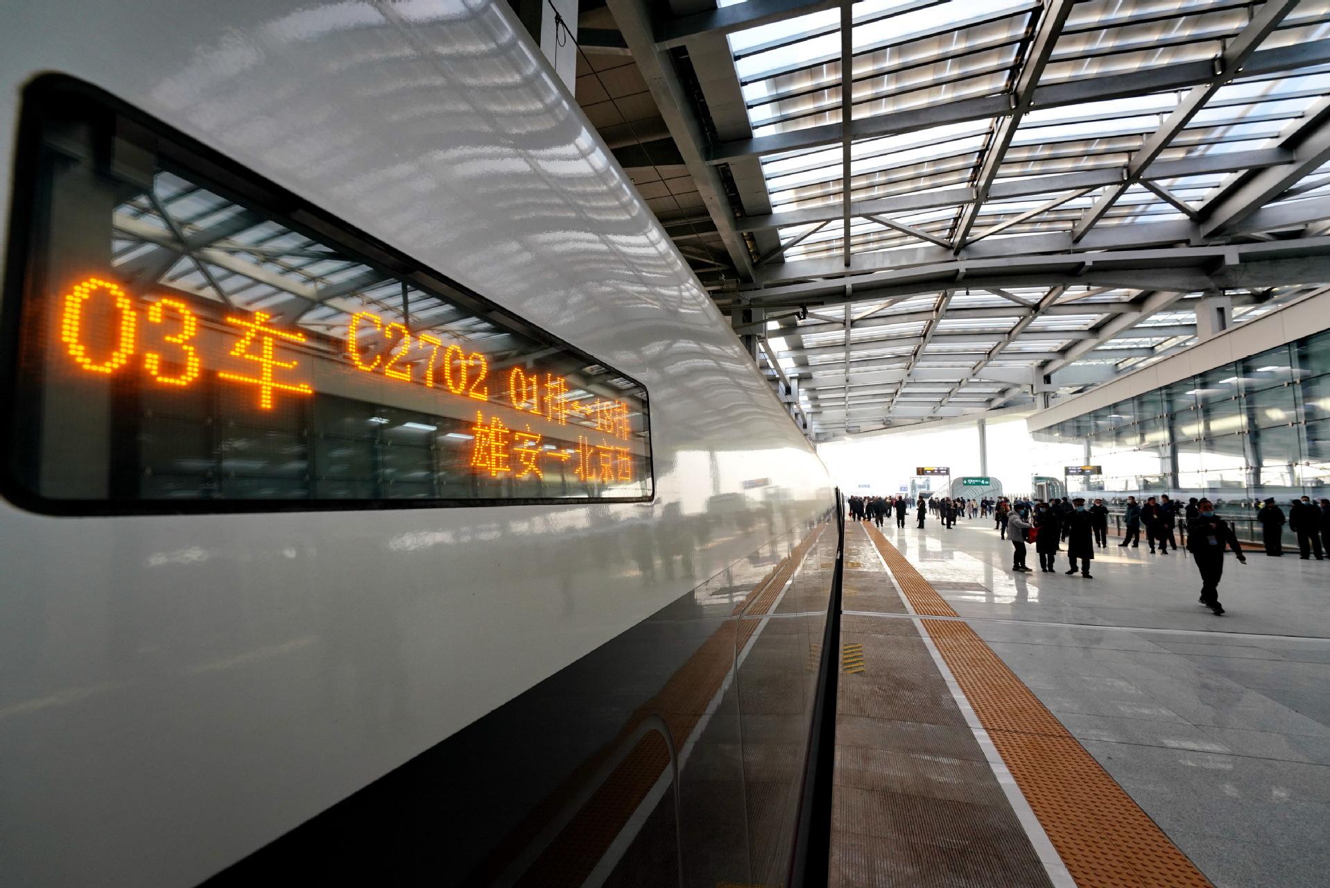 每日一词∣京雄城际铁路 Beijing-Xiong